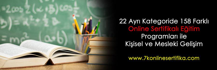 7k online sertifika, 7k akademi, 7k uzaktan eğitim, 7k online eğitim